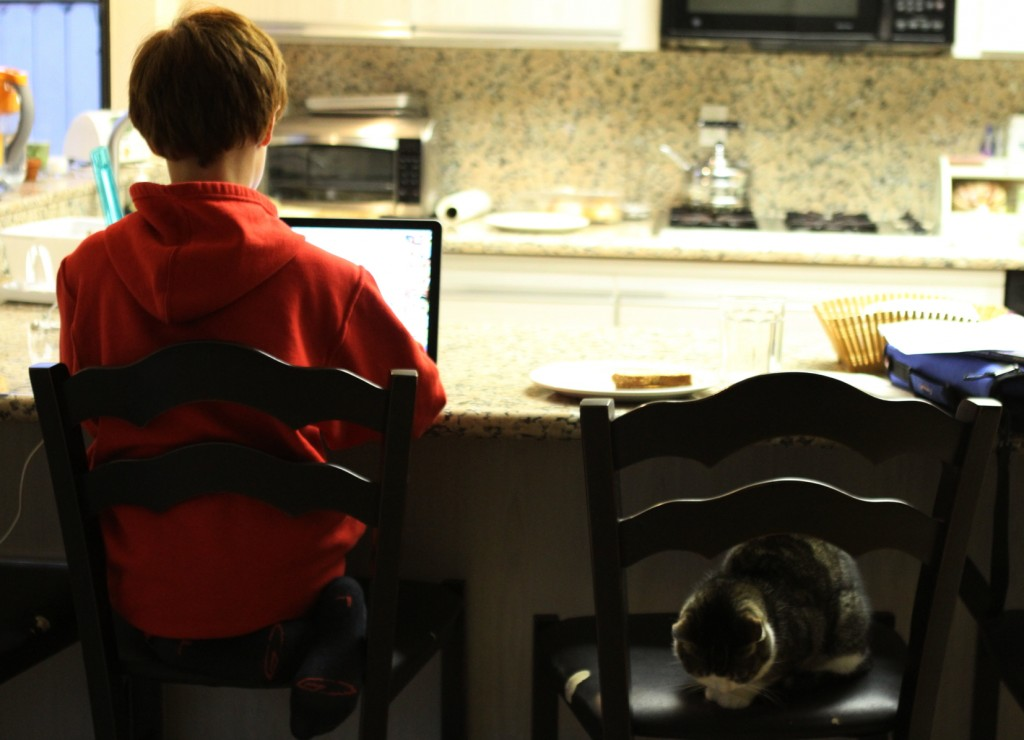 Homework out of focus