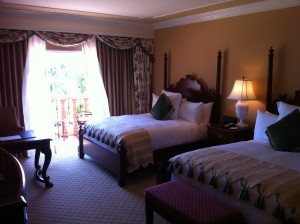 two queen bed room Grand Del Mar San Diego California