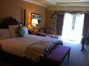 King sized room Grand Del Mar San Diego