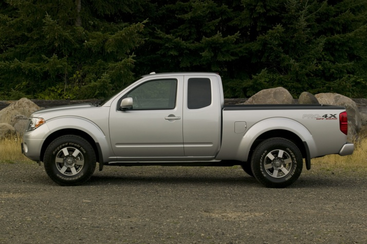 We drove this exact same nissan Frontier 2011 to BlogHer in San Diego