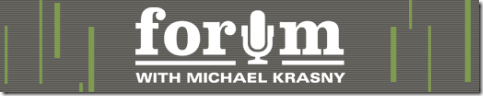 forum with michael krasny kqed npr
