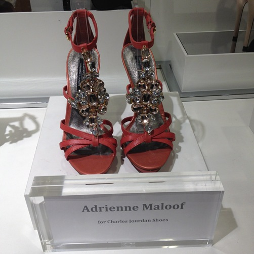 adrienne maloof for charles jourdan sky high heels