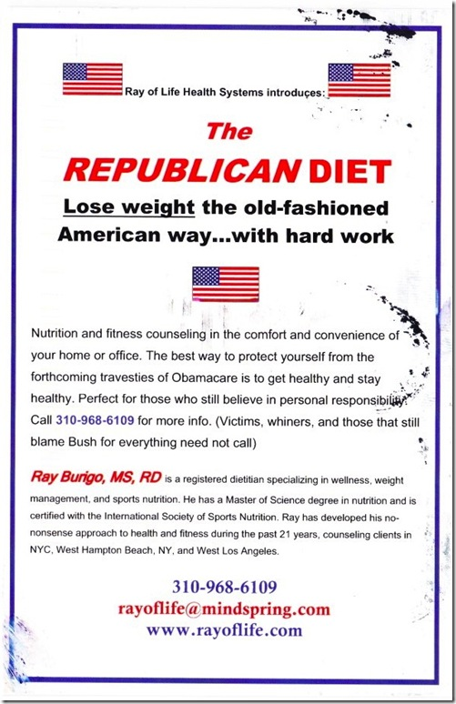 republican diet