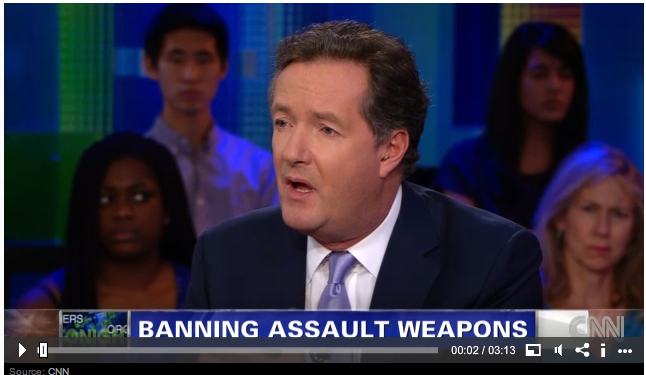 piers morgan ban assault weapons gun debate deport