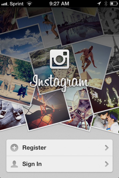 sign up for instagram