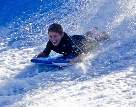 Kate Eschbach Photography first time on FlowRider