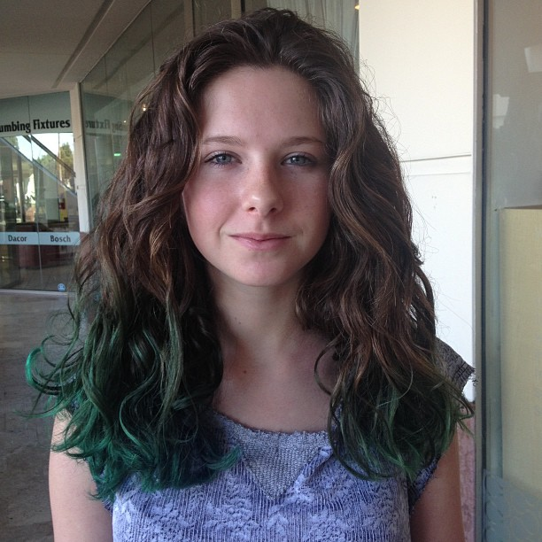 The Green Hair Is Part Of The Strategy Jessica Gottlieb