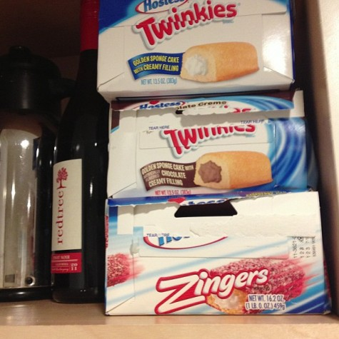 twinkies at my mom's house
