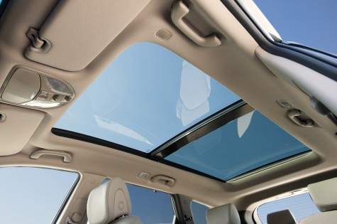 2013 hyundai santa fe panoramic sun roof