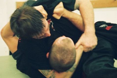 headlock fighting