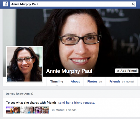 Annie Murphy Paul Facebook