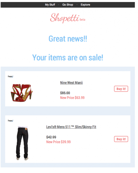 shopetti sale alert