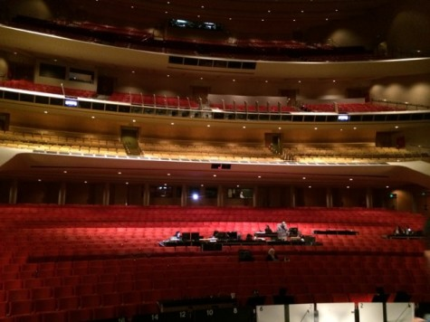 Dorothy Chandler Hall from stage