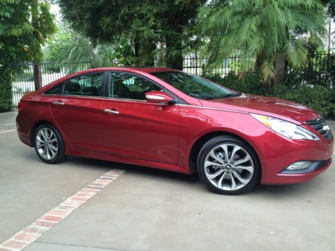 14 hyundai sonata side