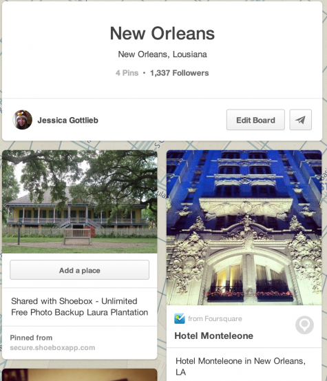 shoebox app on pinterest