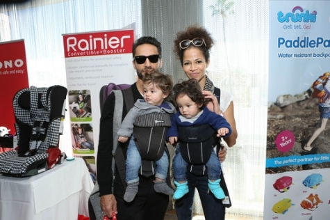 Kamar de los Reyes and Sherri Saum trunki