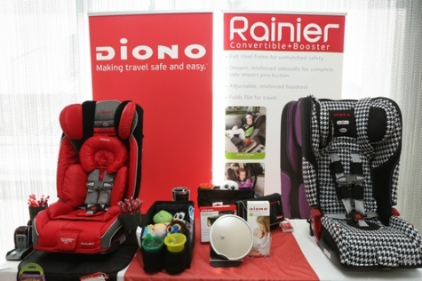 diono rainier convertible booster