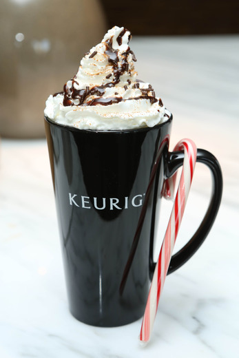 keurig peppermint coffee