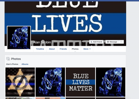 Alan Skobin Galpin Motors Partner Blue Lives Matter