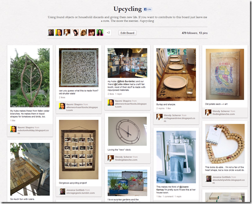 upcycling_board_on_pinterest