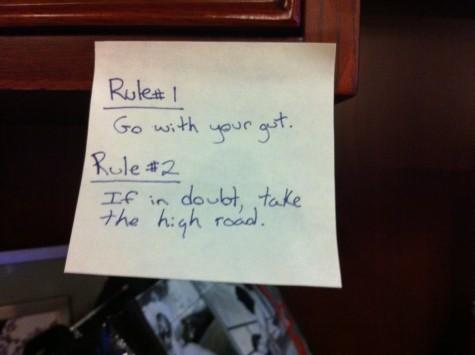 sticky note rules