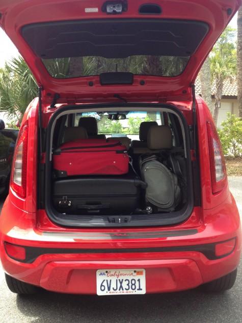2013 kia soul cargo trunk