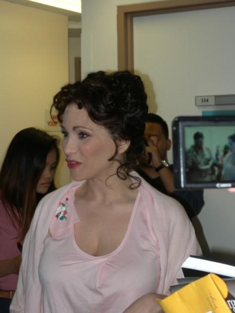 Italian singer and food blogger Carmen Giannattasio  plays Alice Ford