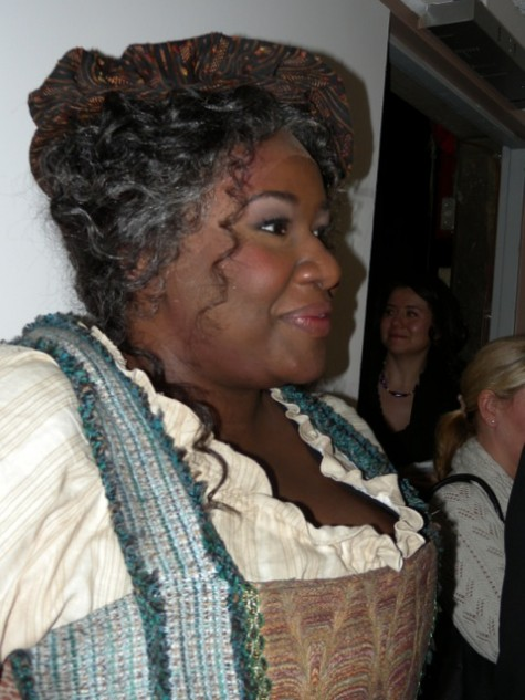 Ronnita Nicole Miller plays Mistress Quickly