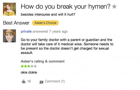 how do you break your hymen